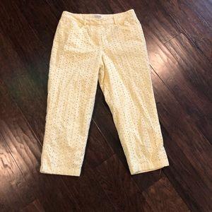 Talbots Capri pants